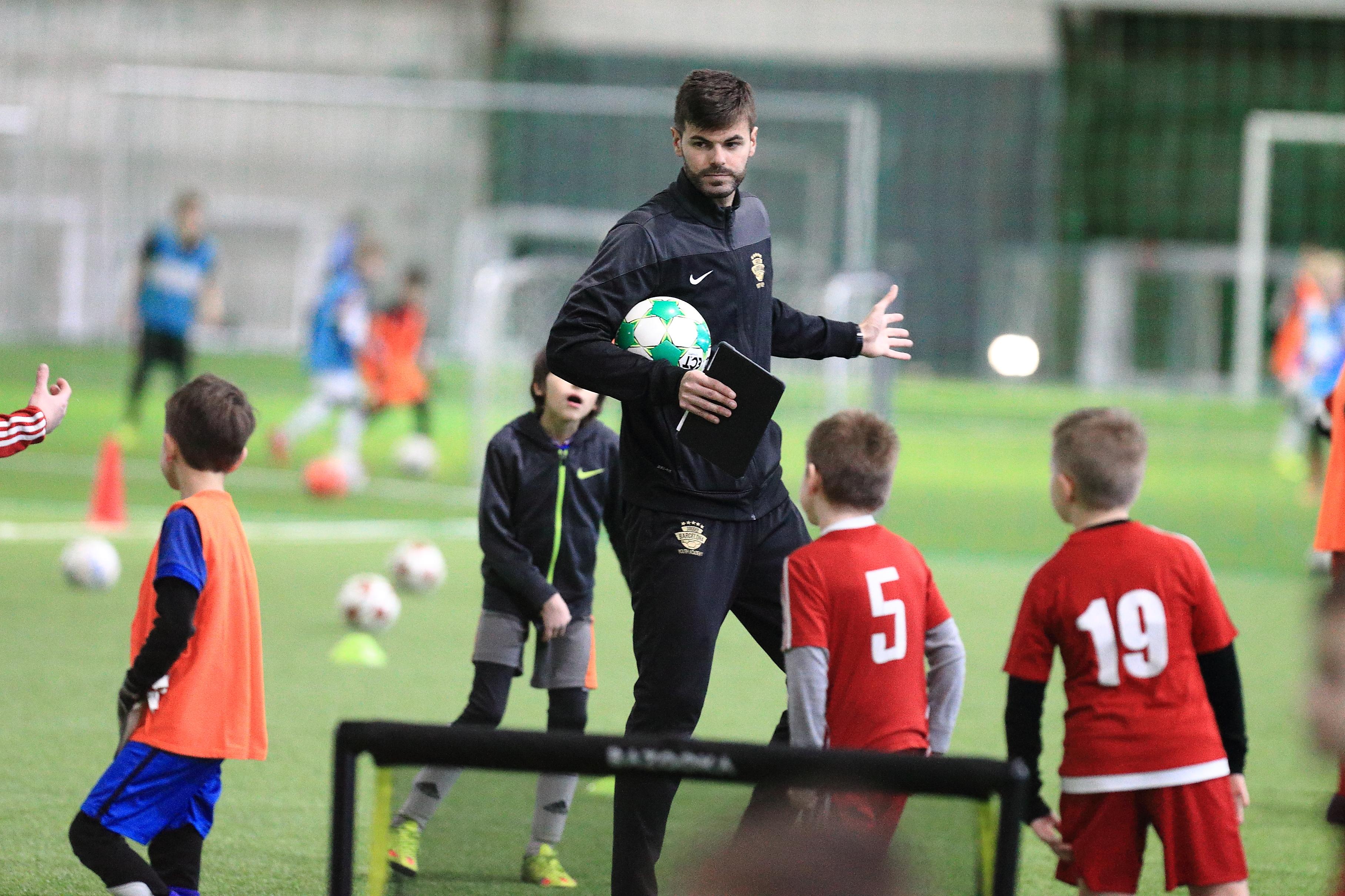 Dany Ayats, Football Lessons Vilnius 2017