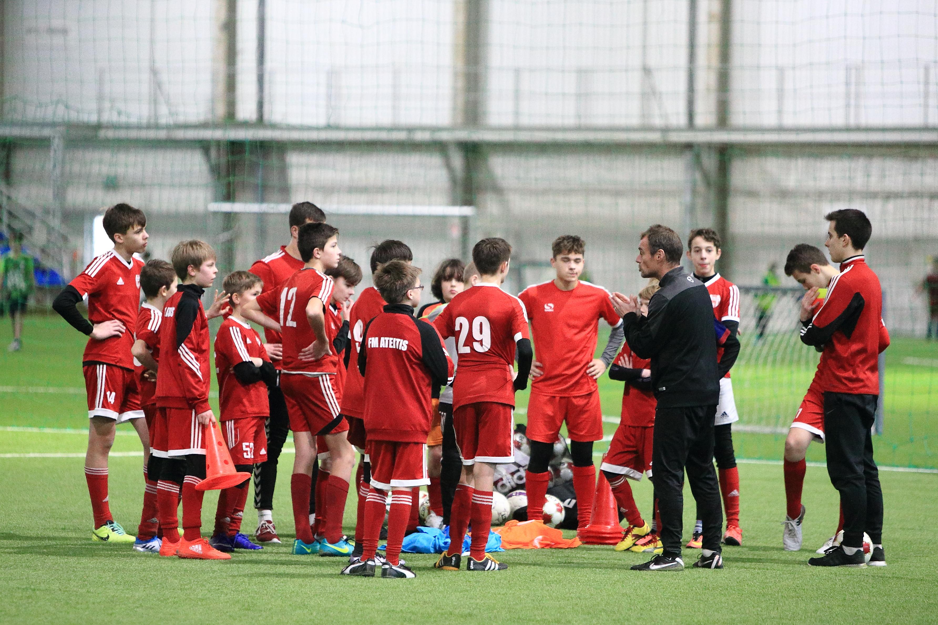 Xavi Moro, Football Lessons Vilnius 2017
