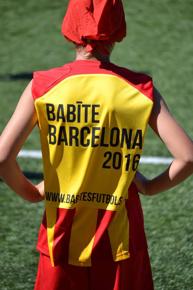 BABITE BARCELONA CAMP 2016
