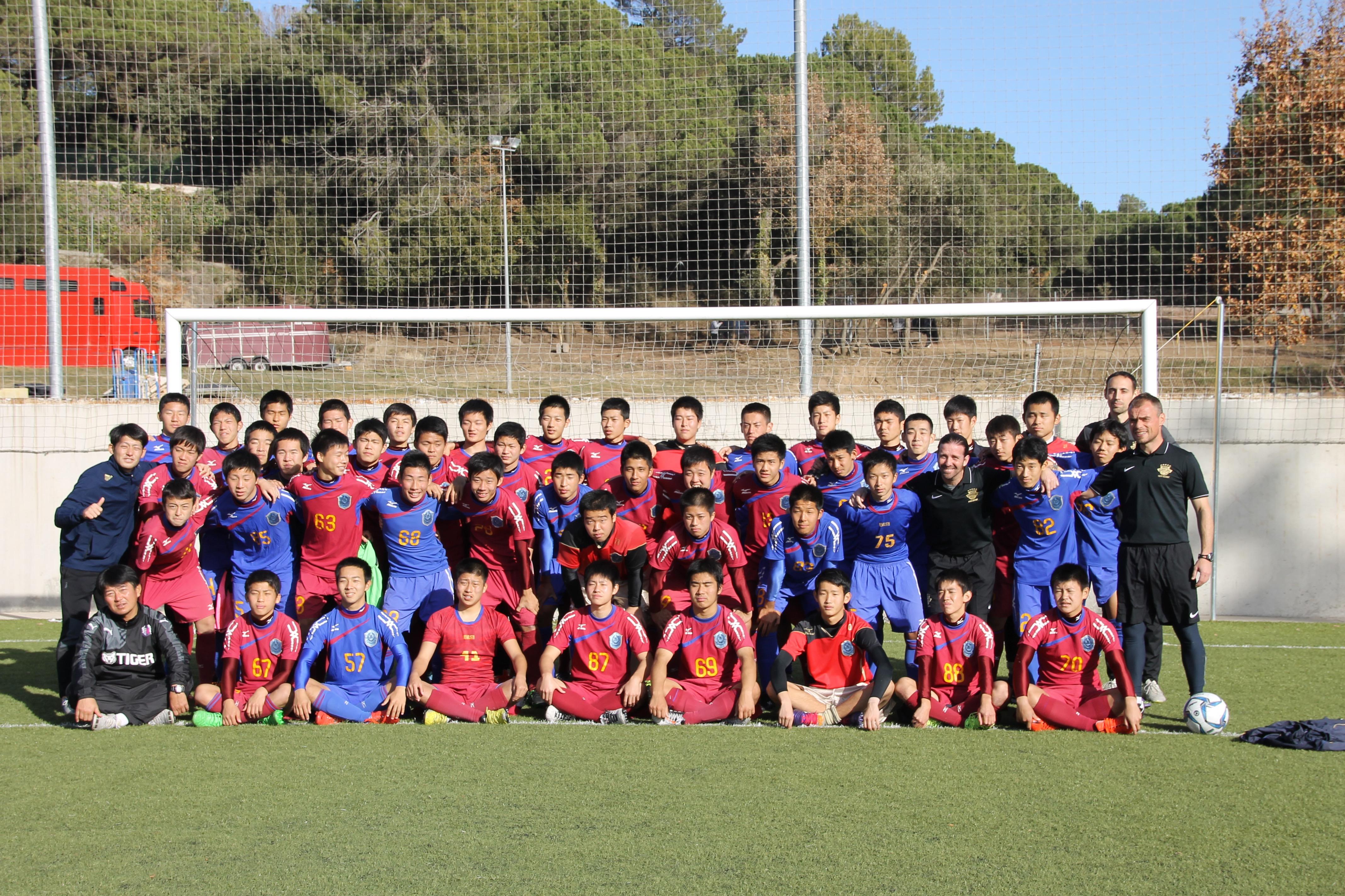 FC Kokoku al Montanyà (Sergi, Xavi i Pau)
