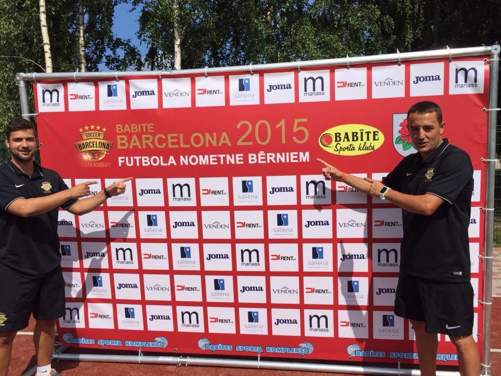 En Jefrey Callau i en Jordi Cortés a punt pel BABITE BARCELONA 2015