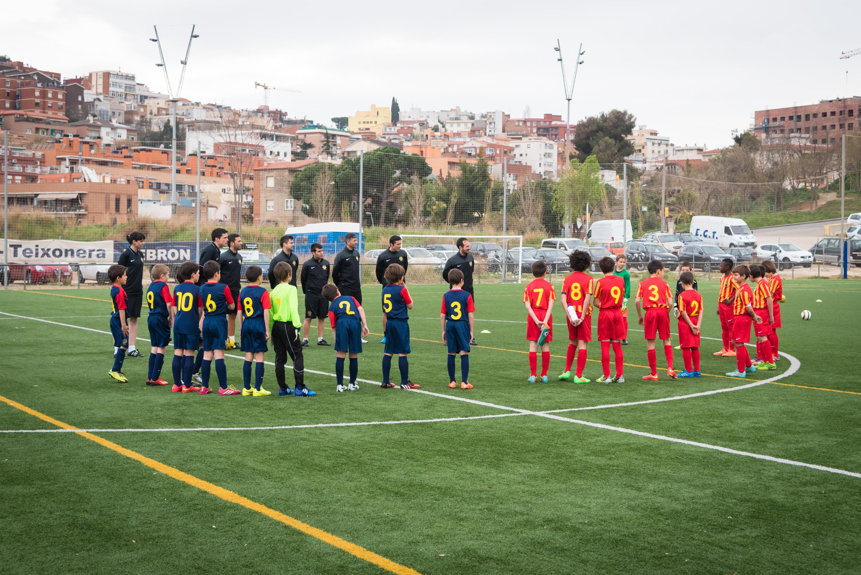 Entrenaments Barcelona-abril 2015-Instal·lacions Vall d'Hebrón