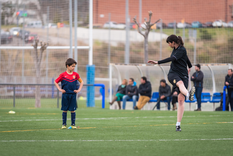 Entrenaments Barcelona (abril 2015) Instal·lacions Vall d'Hebrón